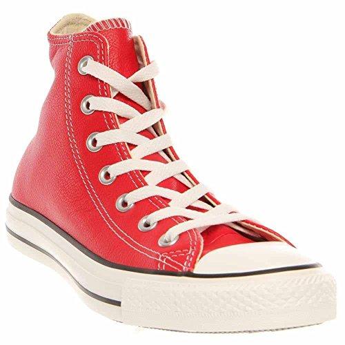 rosso VINTAGE SCARPA CONVERSE SNEAKER STAR ALL modello 1C654 ALTA EFFETTO TELA Zx7xnW