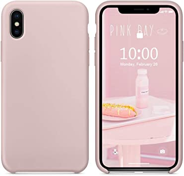 funda iphone pink sand