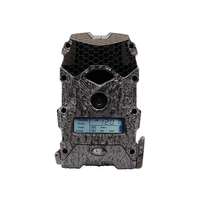 Wildgame Innovations Mirage 16 Lightsout 16MP Hunting Game Trail Camera (2 Pack)