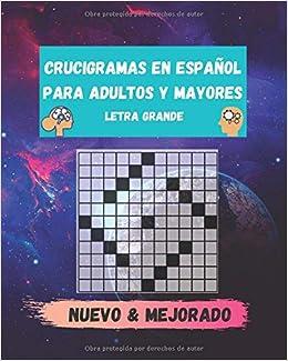 crucigramas en español para adultos y mayores letra grande: teverga y variados: Amazon.es: Roa, Eduardo: Libros