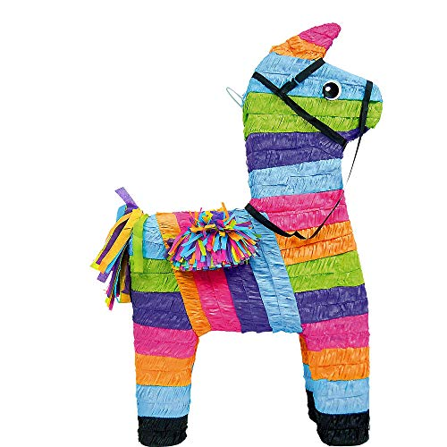 Super Sized Multicolor Party Donkey Pinata -