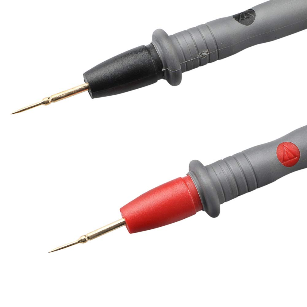 20A Electronic Multimeter Test Leads Detachable Tip Replacement Universal Multimeter Test Lead Probe 1 Pair