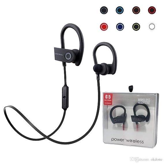 a8e0ee63084 BVOI Bluetooth Headphones, Best Wireless Sports Earphones w/Mic IPX7  Waterproof HD Stereo Sweatproof