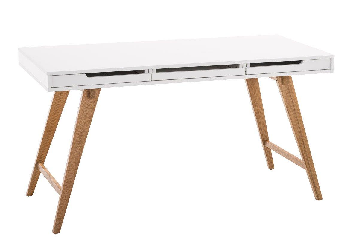 Sympathisch Schreibtisch 140x60 Galerie Von Clp Porto V2 Aus Mdf Und Eichenholz