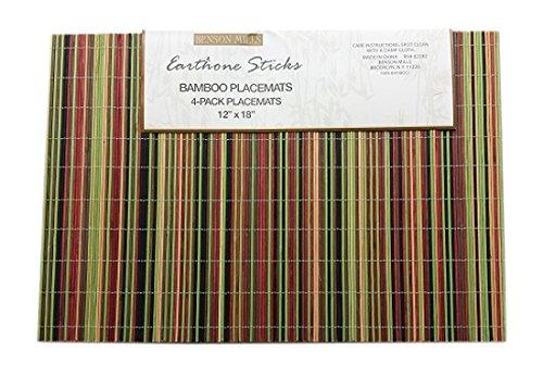 Benson-Mills-Natural-Bamboo-Placemat-Sage