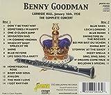 Benny Goodman: The Complete Concert, Carnegie Hall, 1938