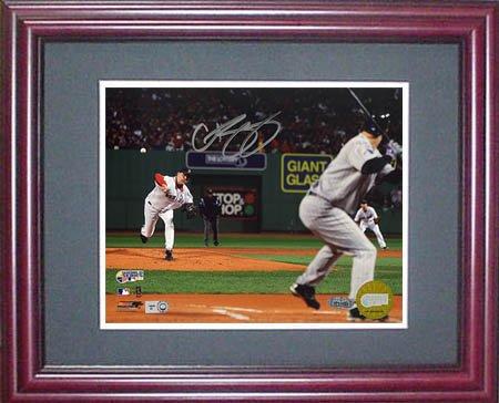Curt Schilling Signed Steiner Framed (Curt Schilling Framed Photo)
