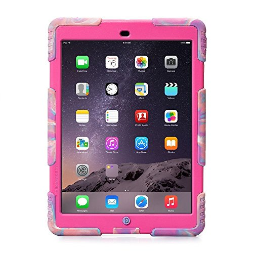 Aceguarder-Anti-Dirt-Drop-Resistance-Case-for-iPad-mini-iPad-mini-2-iPad-mini3---Pink-Camo