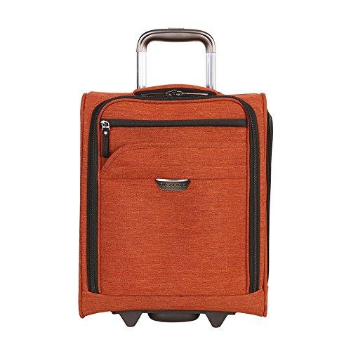(Ricardo Beverly Hills Malibu Bay 16-inch Under Seat Rolling Tote Carry-On Luggage, Orange)