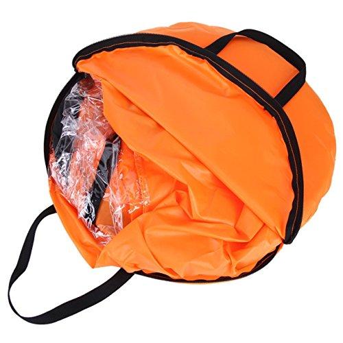 Liruis Kayak Downwind Kit 42 inches Kayak Canoe Accessories, Easy Setup & Deploys Quickly, Compact & Portable Orange by Liruis (Image #3)