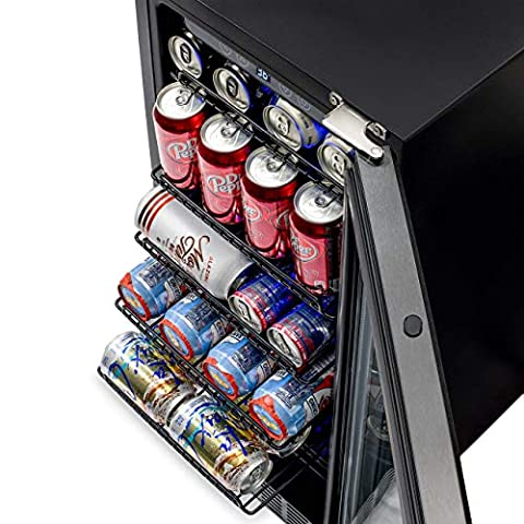 NewAir Built-In Beverage Cooler and Refrigerato