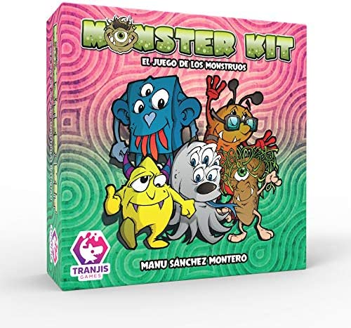 Tranjis Games - Monster Kit - Juego de cartas (TRG-09kit): Amazon ...