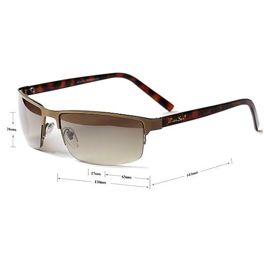 LianSan Damen Sonnenbrille Leopard 6bCDf2X
