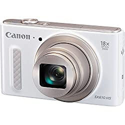 Canon Powershot Sx610 Hs - Wi-fi Enabled (White) International Version (No Warranty)