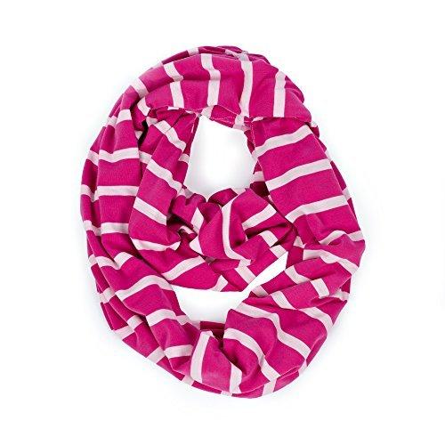 Itzy Ritzy Nursing Happens Infinity Breastfeeding Scarf, Pink Stripe Color: Pink Stripe Model: (Newborn, Child, Infant)