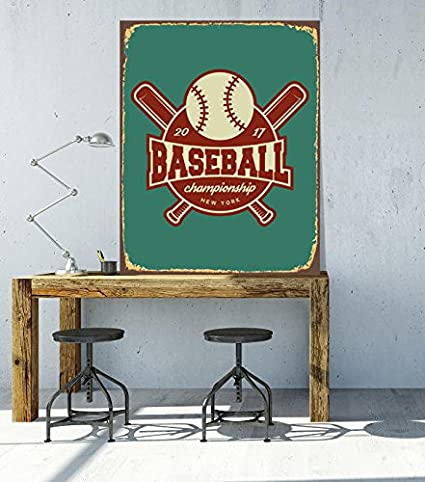 Pleasing Amazon Com Baseball Sports Athletic Sign Sport Sign Sport Bralicious Painted Fabric Chair Ideas Braliciousco