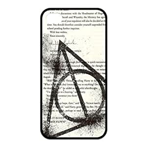 iPhone 4/4S Case, Harry Potter Hard TPU Rubber Snap-on Case for iPhone 4 / 4S