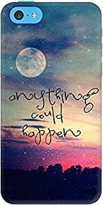 DailyObjects Anything Could Happen Case For iPhone 5C Multicolored