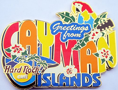 2004 Greetings From Series Pin Hard Rock Cafe Cayman -