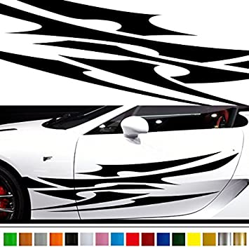 Tribal car sticker car vinyl side graphics 171 car vinylgraphic custom stickers decals