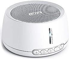 Machine à Bruit Blanc, Roffie White Noise Machine, avec 30 Sons Naturels, Fonction de Mémoire, Minuterie Réglable,...