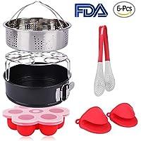 6-Pcs PNAVI Instant Pot Accessories Set for 5, 6, 8Qt Instant Pot Pressure Cooker