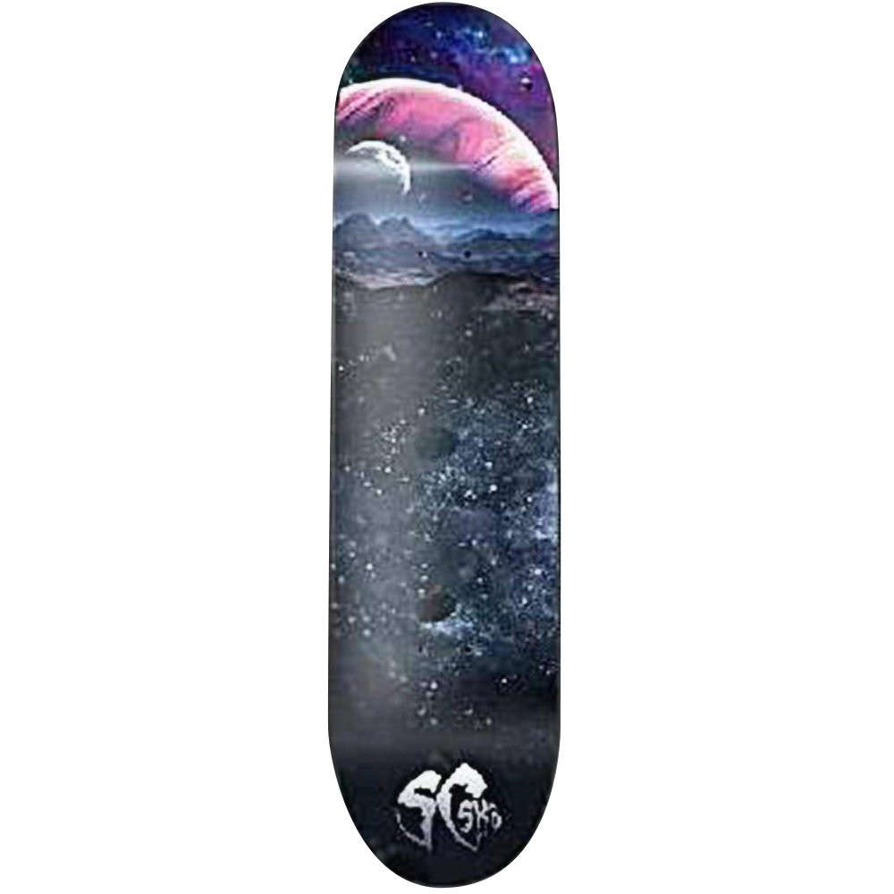 SCSK8 Pro Skateboard/Crusier Pre-Assembled Complete (Dark space)