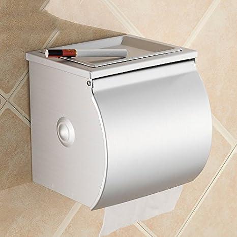 Papel higiénico Caja de toallas Caja de toallas de papel higiénico con cenicero: Amazon.es: Hogar
