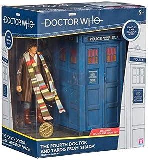 Conjunto de figuras de coleccionista Doctor Who The Fourth Doctor Tardis: Amazon.es: Juguetes y juegos