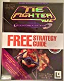 Star Wars LucasArts 1996 Gamespot.com TIE Fighter CD ROM with Strategy Guide