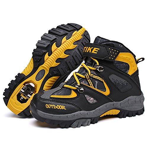 Coton Randonnée Garçon Léger D'escalade Jaune D'hiver Outdoor Walking Chaussures Vitike Sporty De En Pour Bottes Shoes Trekking Enfants Neige EqOznvOT