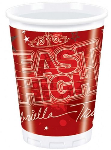 Amscan International Pack Of 10 High School Musical Plastic Cups.