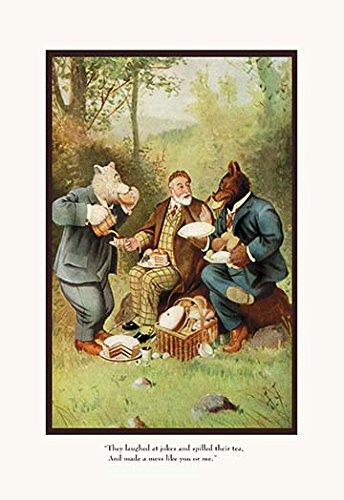 Buyenlarge Teddy Roosevelt's Bears: Teddy B and Teddy G at A Picnic - Gallery Wrapped 28