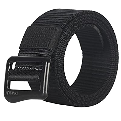 Fairwin Military Style Nylon Webbing Riggers Casual Tactical Web Belt for Men in Delicate Gift Box