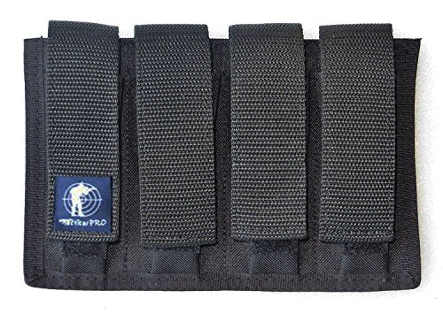 (Tactical Pro Sports Quad Magazine Pouch 9mm 40 & 45)