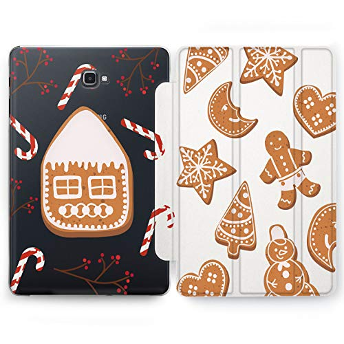 Wonder Wild Ginger Cookies Samsung Galaxy Tab S4 S2 S3 A E Smart Stand Case 2015 2016 2017 2018 Tablet Cover 8 9.6 9.7 10 10.1 10.5 Inch Clear Design -