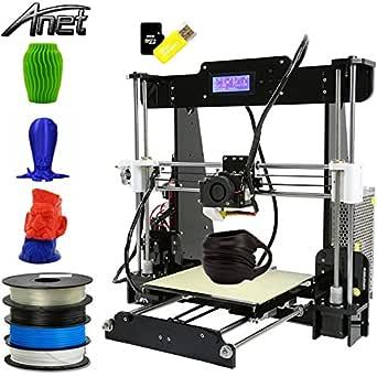 Impresora 3D Anet A8, Kit de impresora 3D, actualizada, de alta ...
