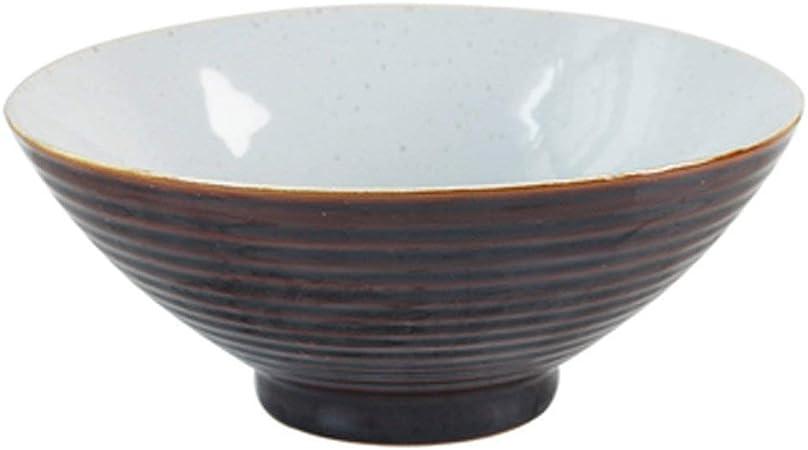 Amazon.com: Canju - Cuenco de cerámica grande para sopa y ...