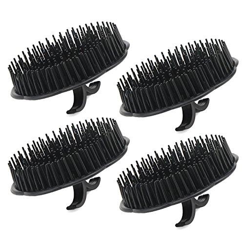 4pcs Scalp Massager Shampoo