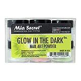 Mia Secret Glow In the Dark Acrylic Powder, 6 piece