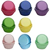 Cupcake Liners SophieBella 400-Count Mixed-8-Solid-Color Standard Paper-Baking-Cups