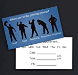 Appointment Reminder Cards: Stages of Grief/Loss (Set of 100)