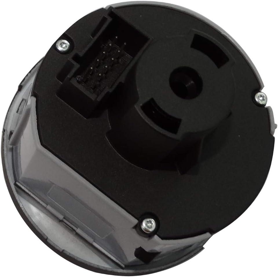 AERZETIX Interruptor boton de control faros luces delanteras C40925 compatible con 1Z0941431K