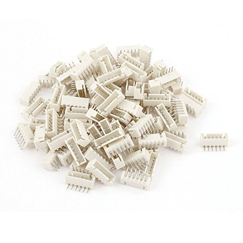 2.54mm Pitch Right Angle 6 Pins Male XH Header JST Connector (100 Header)