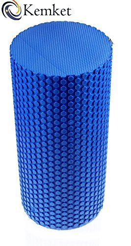 Kemket rodillo de espuma EVA para Yoga, 15 cm x 45 cm – Yoga, Pilates, Fitness rutinas, rehabilitación formación, estiramiento, para mejorar los ...