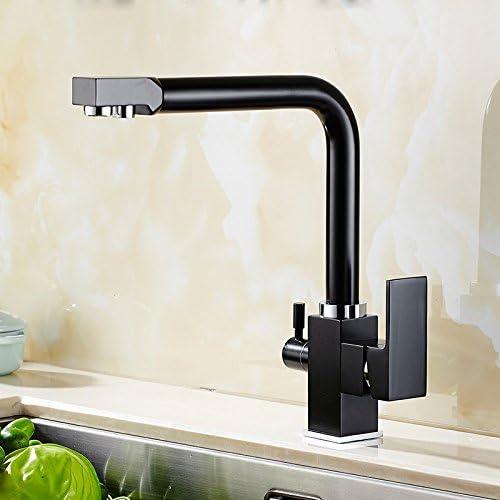 Negro ChengZI el purificador de agua para grifo de cocina pintura ...