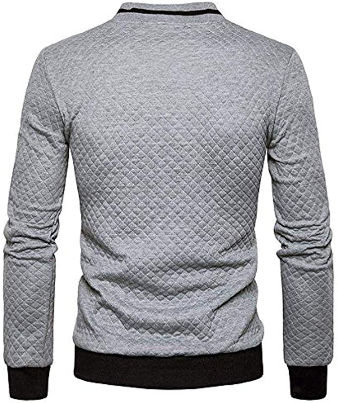 Anaisy Męskie Jacke Pullover Freizeithemd Langarm Sweatshirt Winterjacke Übergangsjacke Long Sleeve Plaid Cardigan Zipper Festlich Tops Jacket Coat Outwear: Odzież