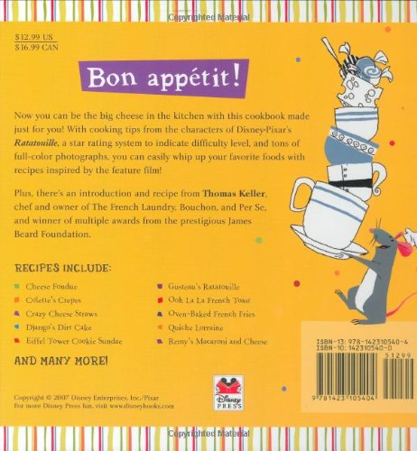 What's Cooking?: A Cookbook for Kids (Ratatouille)