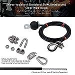 InLoveArts-Lift-Pulley-System-Professionale-Forza-Muscolare-Fitness-Equipment-avambraccio-Polso-Rullo-di-Formazione-per-LAT-pulldowns-Bicipiti-Curl-Estensioni-tricipiti