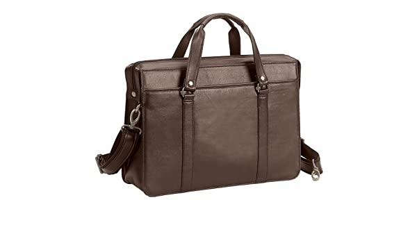 -brown Bellino Goodhope the Insider Soft Leather Briefcase